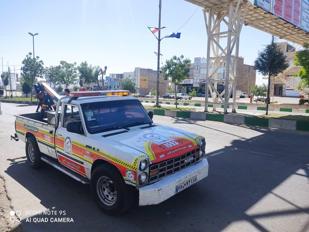 خودروبر کشوری قزوین - امدادخودرو شهر قزوین - خودرو سوار قزوین